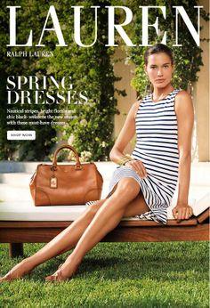 Spring Dresses: Nautical, Bright And Sleek