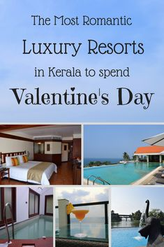 This valentine's day why not head to one of these romantic luxury resorts in Kerala, South India. These places just scream romantic getaway!