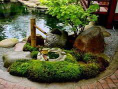 Японский сад. Водные устройства | Садовед