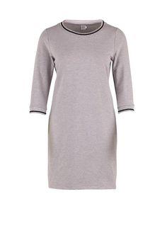 Sweatshirt kjole - gråmeleret