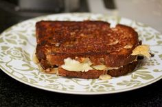 Grilled Swiss and Roasted Fennel Sandwich