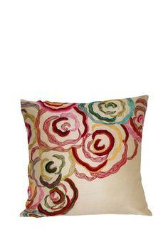 cool crewel Dayita Pillow -