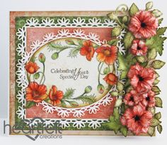 Heartfelt Creations | Red Poppies Celebrating