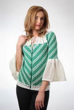 Ie tricotata cu imprimeu traditional 3061 - Ama Fashion Traditional, Sweaters, Fashion, Moda, Fashion Styles, Sweater, Fashion Illustrations, Fashion Models, Sweatshirts