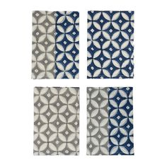 Two Tone Napkins | Set of Four