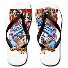 #Artsmith Inc             #ApparelFootwear          #Men's #Flip #Flops #(Sandals) #Southern #Girl #Rebel #Flag #With #Guns #Cowgirl                        Men's Flip Flops (Sandals) Southern Girl Rebel Flag With Guns Cowgirl                                   http://www.snaproduct.com/product.aspx?PID=8094126