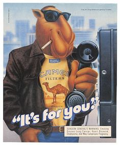 Joe the camel advertising