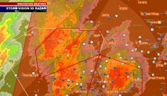 Tornado Warning and TORNADO EMERGENCY FOR DALLAS AND LANCASTER, TX