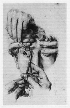 Nicolas-Henri Jacob (French, 1782–1871) - Drawing in Traité Complet De L'anatomie De L'homme by Marc-Jean Bourgery, 1839