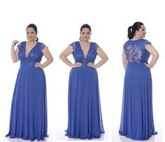 Vestido Longo Plus Size, lindo!!  #vestido #dress #party #festa  #plussize #vestidoplussize #vestidolongo #bridesmaids #vestidodefesta #modafesta #casamento #madrinha #formatura #mademoiselle #arrase #fashion #style #impressionmodafesta #tatuape #sp #instaparty #girl #festadecasamento #maedanoiva #maedonoivo #instafashion #weddingdress #instadress