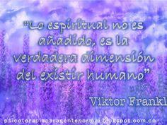 Viktor Frankl Espiritualidad Nooético