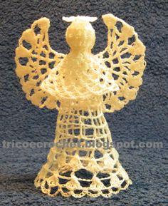 Anjo de Crochê- Crochet Angel
