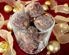 Make these quick and easy rum balls for the perfect holiday treat thats sure to become an instant favorite. Get the recipe at Food.com.
