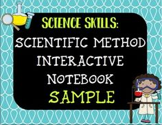 FREE Scientific Method Interactive Notebook Sample - great for back to school or beginning of the year in science!