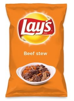 Wouldn't Beef stew be yummy as a chip? Lay's Do Us A Flavor is back, and the search is on for the yummiest flavor idea. Create a flavor, choose a chip and you could win $1 million! https://www.dousaflavor.com See Rules.