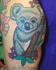 Koala love tattoo 💗