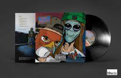Mit »Macht's Gut Und Danke Für Den Fisch« schließt Johnny Rakete zusammen mit HawkOne die Trilogie »Per Anhalter Durch Die Galaxis« ab und verneigt sich vor der ikonischen Weltuntergangs-Komödie von Douglas Adams und vor allem vor HipHop. Das Vinyl erscheint exklusiv über hhv.de und ist limitiert auf 300 Stück. Vinyl Lp, Vinyl Records, Douglas Adams, Music Instruments, Thanks, Pisces, Musical Instruments