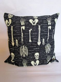Gothic anatomy large cushion