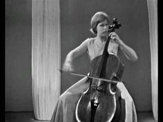 Jacqueline du Pré, F. Mendelssohn - Song without words Op.109.wmv