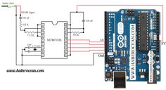 Circuit to Identify Pressed Switches of a Mobile Phone using Arduino (Part 1 of Arduino Parts, Simple Circuit, Long Distance, Electronics, Digital, Phone, Funny, Projects, Diy
