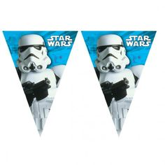 Guirnalda de cumpleaños Star Wars
