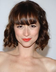 Karine Vansse who plays Colette in Pan Am. How gorgeous is she? And she's from Quebec! represent!