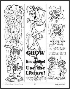 FREE Download~  Spring Bookmarks