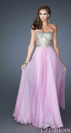 Prom dress  My besty would love this but top would be more covered