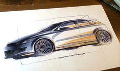 Industrial design marker sketch by Shane Paul Sumampouw
