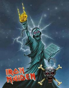 Metal is the real Freedom - Iron Maiden (Eddie)