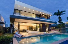 Casa moderna de playa