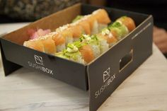 Kloof Street is the home of the newest Sushi Box restaurant. Expect gourmet sushi at affordable prices. Asian Restaurants, Cape Town, Favorite Recipes, Snacks, Ethnic Recipes, Food, Street, Drinks, Gourmet