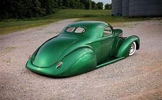 You will ❤ MACHINE Shop Café... ❤ Best of Custom @ MACHINE ❤ (Kool 1941 Willys Custom Coupé)