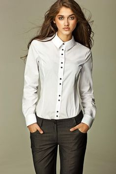 Amir Women Long Sleeve Blouse 60% cotton, 40% polyester Imported Poland 5 day…