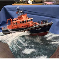 Observe: by way of: ? Diorama Art, Diorama Ideas, Scale Model Ships, Scale Models, Cool Bugs, Water Effect, Model Maker, Military Diorama, Tug Boats