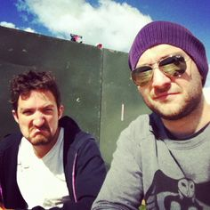Frank Turner and Ben Dawson waiting to do press Find A Song, Rocker Chick, Music Like, Will Turner, Rock And Roll, Waiting, Smile, Songs, My Love
