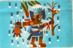 """TEZCATLIPOCA, DIOS DE LOS DIOSES""""(Espejo humeante, es la deidad mas importante de la religion Nahua. Era el hacedor de todas las cosas, el dios del sol en su aspecto de dominio y poder en las tinieblas. Es llamado """" noche y viento, el arbitro, el que piensa y rige por su propia voluntad """". Se le hace intervenir como rival de Quetzalcóatl y causante de la caída del reino del este."""""""