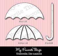 Teasers Jour 4 - parapluie! Sarah Gough www.thinkingstamps.com