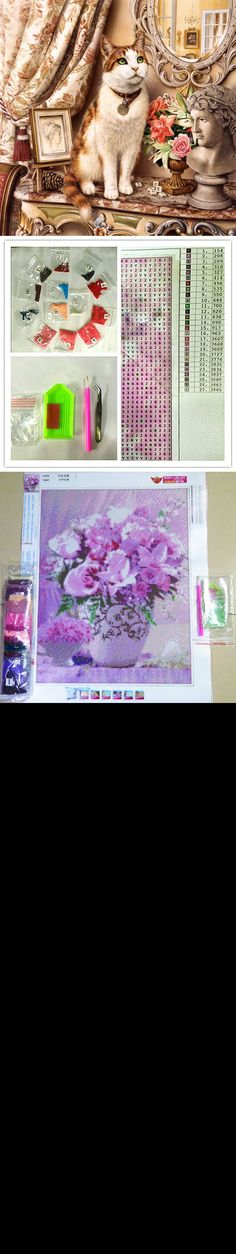 Diamond Painting home decor Elegant cat pictures Crafts full Diamond Embroidery unfinished diy 5D cross Stitch Rhinestone $8.99