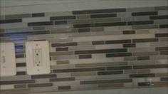 14 Typical Home Depot Kitchen Backsplash Glass Tile Pictures 14 Typical H. 14 Typical Home Depot K Home Depot Backsplash, Backsplash Kitchen White Cabinets, Ceramic Tile Backsplash, Kitchen Backsplash, Smart Tiles, Home Depot Kitchen, Diy Kitchen, Mosaic Diy, Murano