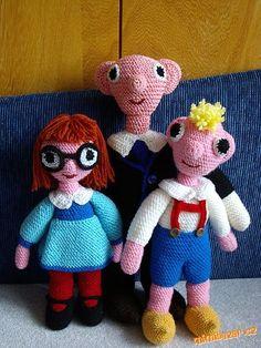 Háčkovaný Spejbl | Mimibazar.cz Teddy Bear, Knitting, Toys, Create, Animals, Vip, Crocheting, Corner, People