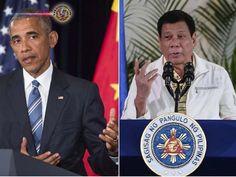 EUA perguntam às Filipinas sobre as declarações de Duterte. O porta-voz do Departamento de Estado dos EUA diz que Washington vai procurar uma explicação...