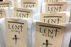 What's in YOUR Lent in a Bag: Shared Photos!
