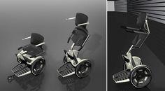 Porsche Design p'gasus wheelchair
