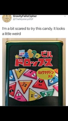 WHAT IS WRONG WITH THE CREATORS OF THIS CANDY HE IS A DEVIL (Original comment by Morgan)