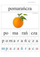 BLOG EDUKACYJNY DLA DZIECI: kwietnia 2017 Learn Polish, Polish Language, Montessori, Letters, Teaching, Education, Children, Html, Poland