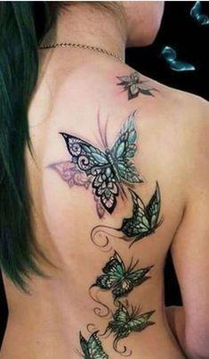 Artist – Dimon Taturin/Tattoos/Butterflies/Love this! Artist – Dimon Taturin/Tattoos/Butterflies/Love this! Artist – Dimon Taturin/Tattoos/Butterflies/Love this! Fairy Tattoo Designs, Tattoo Designs For Girls, Small Tattoo Designs, Tattoos For Women Small, Small Tattoos, Rose Tattoos, Sexy Tattoos, Flower Tattoos, Body Art Tattoos