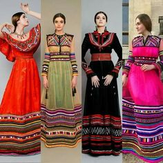 - Avenue Des Mariés Mexican Fashion, Ethnic Fashion, Hijab Fashion, Boho Fashion, Fashion Dresses, Fashion Design, Traditional Fashion, Traditional Dresses, Afghani Clothes