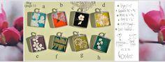 Pendants by Skipping Lillies - www.skippinglilies.com