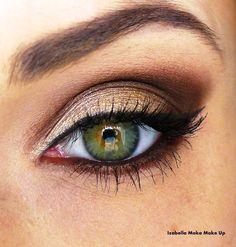 How To Apply Eyeshadow   AmazingMakeups.com. Great makeup idea for light…